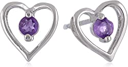 Sturdy and Well-Made, Sterling Silver and Amethyst