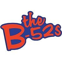 "The B-52'S Logo STICKER - New Wave Band B-52's Logo, Orignal Artwork Premium Quality Decal STICKER - 4"" x 5.25"""