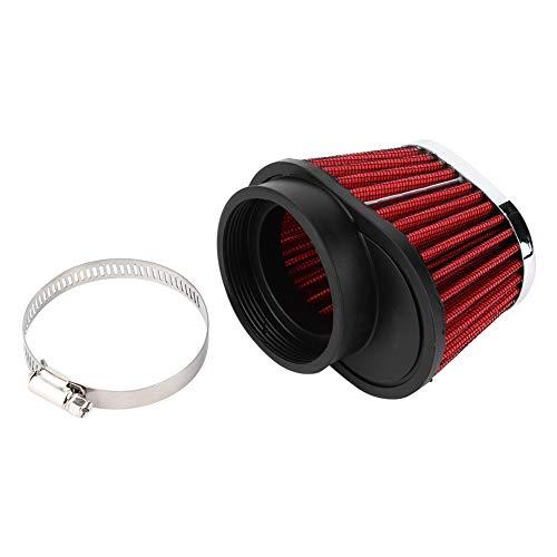 Qiilu Motorrad Luftfilter, Pilzkopf Motor Luftfilter Filter Zubehör(60mm)