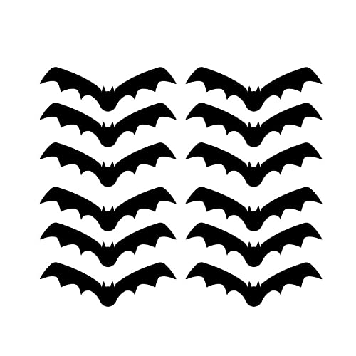 Halloween Pegatinas Ventana 8 Estilos Ventana de Halloween Etiqueta de la Pared de Halloween Halloween Decoración de Horror Etiquetas de Pared Bar Haunted House Ghost Bat Decoration Pegatinas