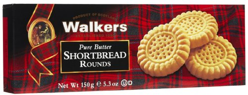 Walkers - Paquete galletas escocesas shortbread rounds walkers 150 gr - , Pack de 12 unidades