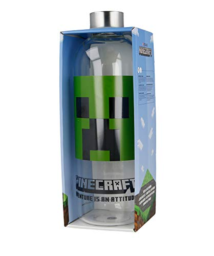 Stor Botella DE Cristal 1030 ML | Minecraft