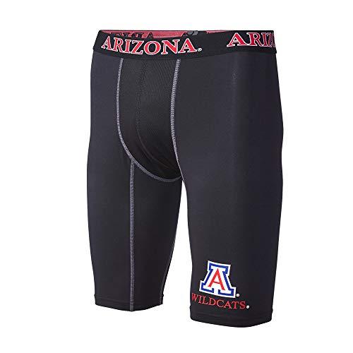 FANDEMICS NCAA University of Arizona Men's Compression Short, Men's X-Large (40-42)