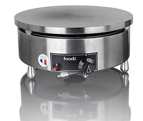 Foodis Crepera Gas Gama 40cm Comfort Ronda Manual