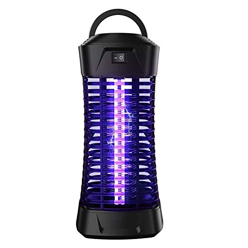Dayoung Insektenvernichter,elektrischer Insektenvernichter Moskito Killer mit UV-Licht gegen Stromschlag Tragbare Insektenlampe Mücken,Fliegen, Bienen für Schlafzimmer, Küche, Büro, zu Hauseeich