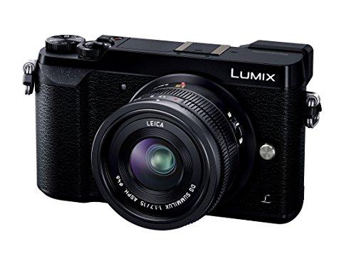 パナソニック ミラーレス一眼カメラ ルミックス GX7MK2 単焦点ライカDGレンズキット ブラック DMC-GX7MK2LK