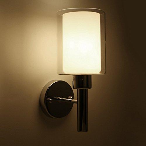Good thing Applique Lampe murale simple et moderne Lampe de toilette nordique chaude et chaude Lampe de chevet Éclairage LED