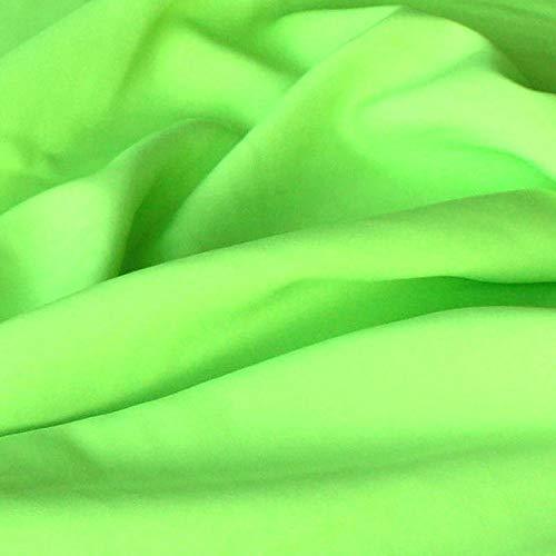 Modestoff / Dekostoff universal Stoff ALLROUND knitterarm - Meterware am Stück (Hell-Grün)