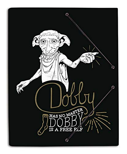 Carpeta gomas A4 polipropileno Harry Potter Dobby