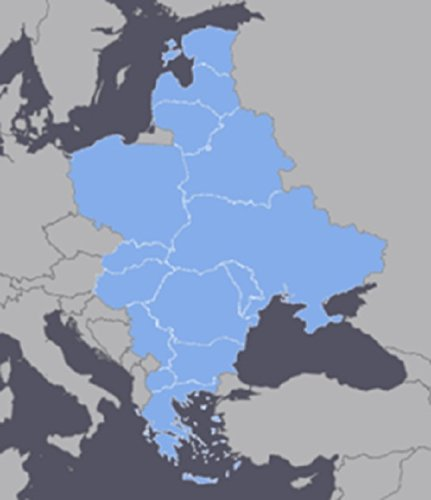 Eastern Europe GPS Map 2020.1 for Garmin Devices on microSD