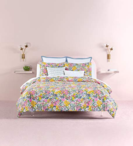 Kate Spade New York Floral Dots Comforter Set, King, Lilac