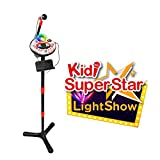 VTech – Kidi SuperStar LightShow noir – Micro Karaoké – Karaoké Enfant -...