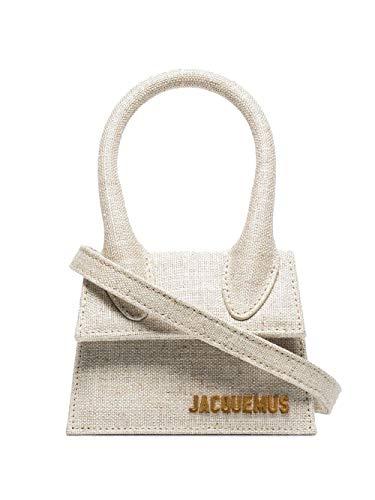 JACQUEMUS Luxury Fashion Damen 203BA01203124140 Beige Leder Schultertasche | Ss21