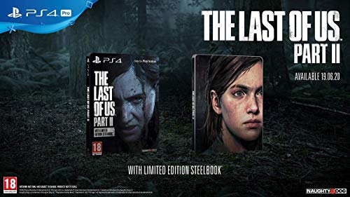 The Last of Us Part II with Limited Edition Steelbook (PS4)