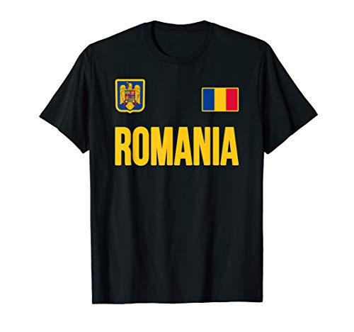 Rumänien T-Shirt Rumänische Flagge Romania Flag