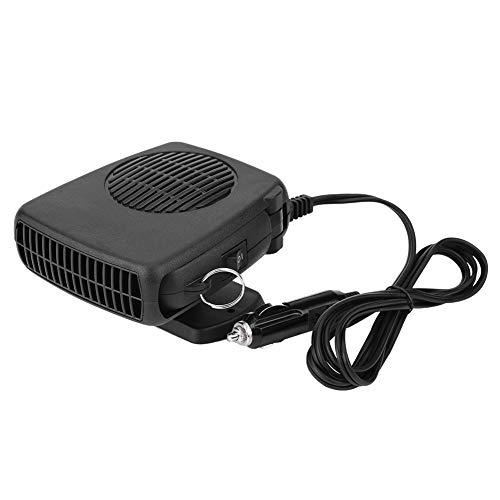 Calefactor de Coche, 2 en 1 Calefacción para Coche, 12V 150W Ventilador y Calefactor