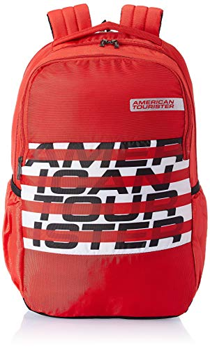 American Tourister Bounce 28 Ltrs Red Casual Backpack (FR9 (0) 00 003)