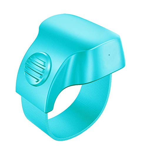 OOTD E-Book Page-Turner Ring, Portable Bluetooth Small Exquisite Reader Fast Page-Turner Device Wireless Smart Rechargeable Finger Camera Shutter Selfie Control Better Reading Experience for Lazy Boy