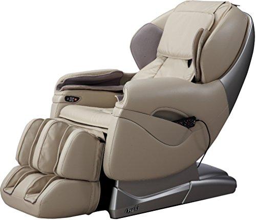 Osaki TP8500D Model TP-8500 Massage Chair, Beige, L-Track Massage Function, Zero Gravity...