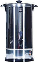 Shabbat Automatic Coffee Urn 50 Cups - Stainless Steel Hot Water Boiler & Warmer - Auto Temperature Control Commercial & Home Urns Great for Catering Buffets Parties Weddings Holiday Jewish Dinners