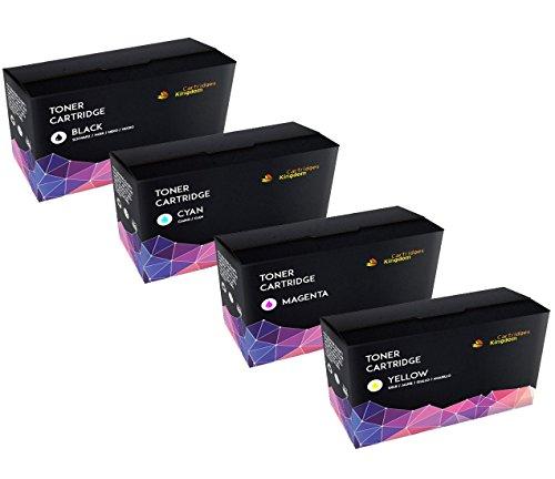 4 Cartridges Kingdom Cartuchos Toner Laser compatibles
