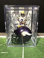 Minnesota Vikings Helmet Shadowbox w/Justin Jefferson card