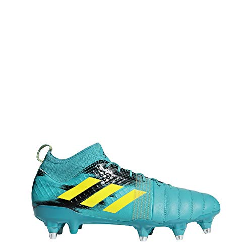 adidas Kakari X Kevlar (SG), Scarpe da Rugby Uomo, Blu (Hiraqu/Shoyel/Cblack Hiraqu/Shoyel/Cblack), 39 1/3 EU