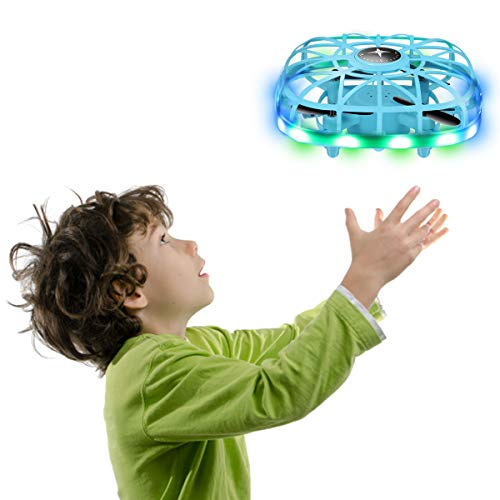 RC Drone, Hand Operated Drones for Kids or Adults - Hands Free Mini Drone, Easy Indoor Small UFO Flying Ball Drone Toys for 3 4 5 6 7 8-12 Year Old Boys and Girl Toys