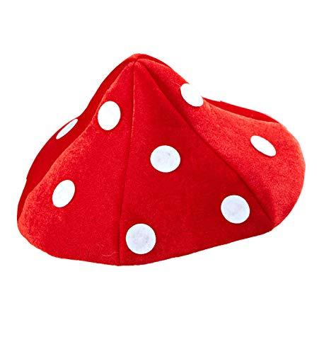 WIDMANN wdm0211l?Disfraz para adultos sombrero Seta, rojo, talla nica