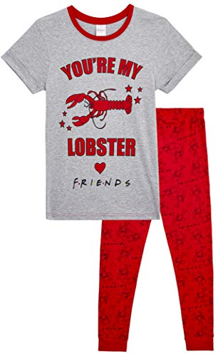 FRIENDS Pijama Mujer You Are My Lobster, Conjunto de 2