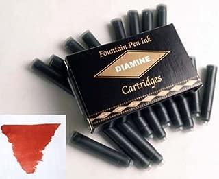 Diamine Refills Monaco Red Pack of 18 Fountain Pen Cartridge - DM-8009