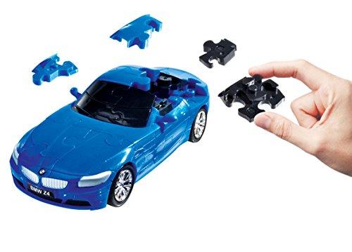 Herpa- Divertente Puzzle 3D 80657084-BMW Z4, Blu, 80657084