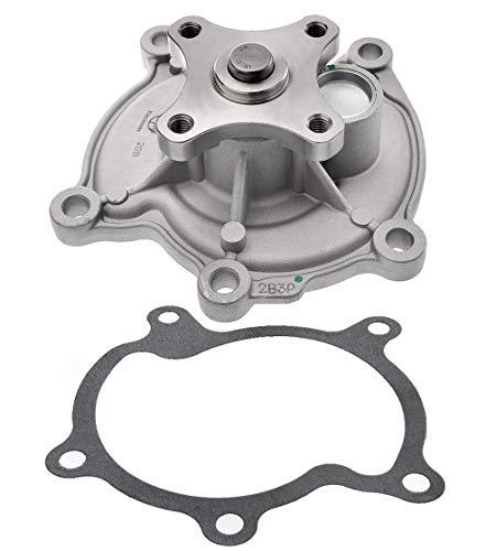 Tecoom AW6020 Professional Water Pump with Gasket for Impala Malibu Pontiac G6 3.5L 3.9L Engine