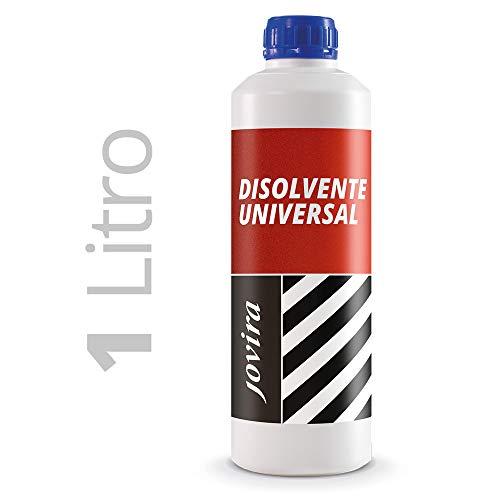 DISOLVENTE UNIVERSAL Diluyente de pintura, Esmaltes, Barnicez, Antioxidantes. Limpieza de herramientas. (1 Litro)