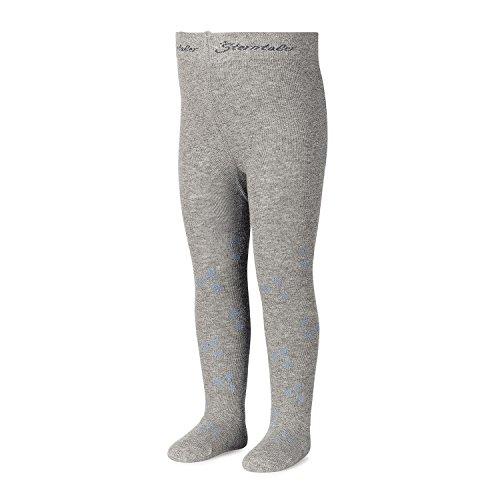 Sterntaler - meisjes panty met glitter ster, grijs - 8701720g