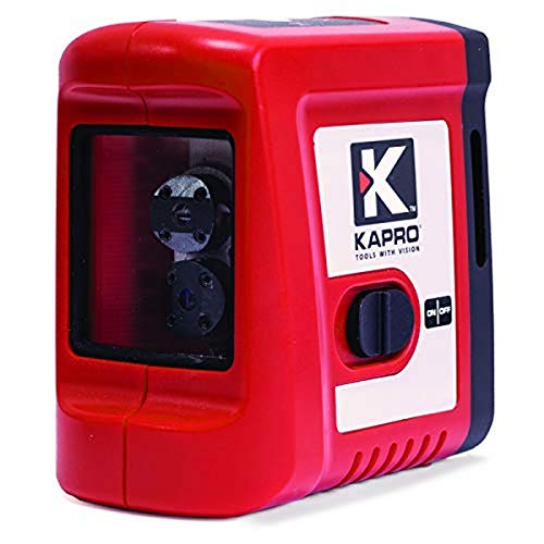 Medid 5862 Mini Nivel autonivelante KAPRO, Rayo Rojo, Lineas Laser Horizontal, Vertical y...