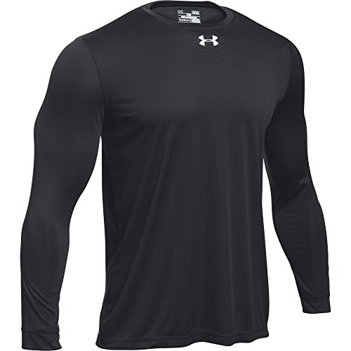 Under Armour Men's UA Locker 2.0 Long Sleeve Shirt (Large, Black)