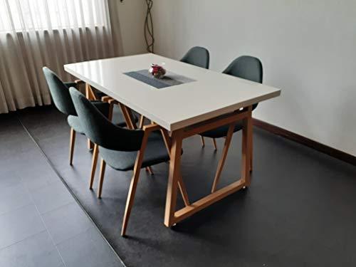 【テーブル1台+チェア4脚】 ダイニングテーブルセット 4人掛け 140cm幅 ダイニングテーブル ダイニングセット 5点セット おしゃれ 北欧 食卓テーブル 4人用 食卓 ダイニング5点セット フィリップ (5点セット)