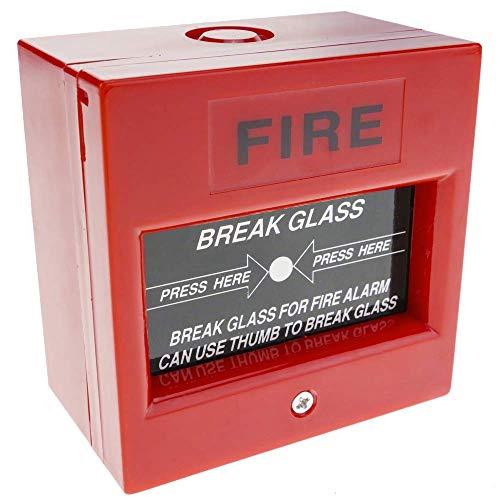BeMatik - Pulsador Manual de Emergencia para alarmas de Incendios