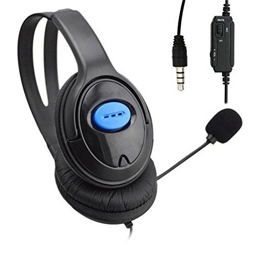 Gaming Headsets,Awakingdemi Wired Gaming Headset Earphones Headphones with Microphone Mic Stereo Supper Bass for Gaming PS4 PC Laptop Gamer Mobile