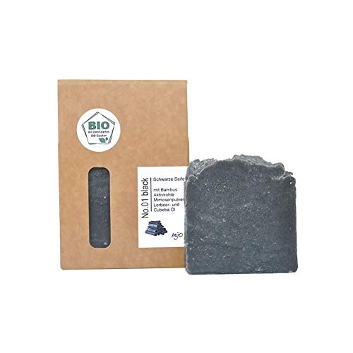 Mijo Lavendelseife SWIRL handgemachte rückfettende Naturseife mit Bio Olivenöl, Sheabutter ohne Palmöl vegan ca. 100g