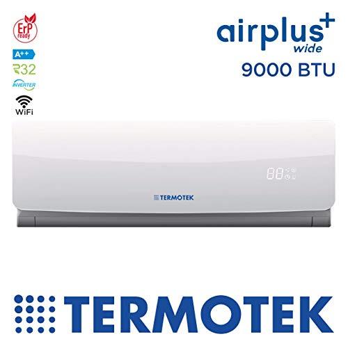 petit un compact TERMOTEK AIRPLUS WIDE C9 – Climatiseur 9000BTU Onduleur A ++ WIFI READY R32