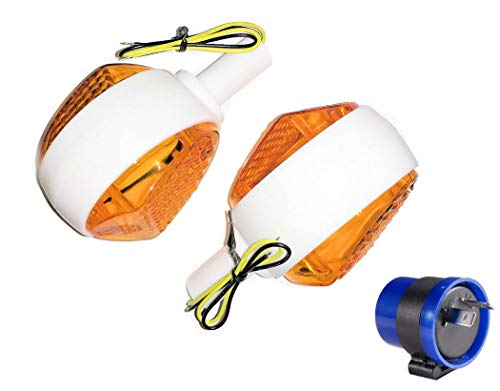 Blinker Blinkleuchte Set 6V LED für Simson KR51/1, KR51/2, SR4-2, SR4-2/1, SR4-3, SR4-4 BJ-Handel