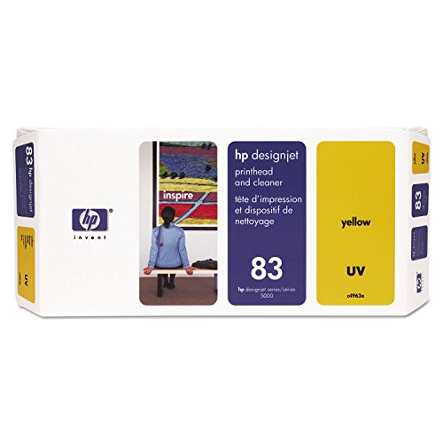 HP C4963A Cabeza de Impresora - Cabezal de Impresora (HP Designjet 5000, 5500, Amarillo, 5-40 °C, -40-60 °C, 264 x 36 x 114 mm)