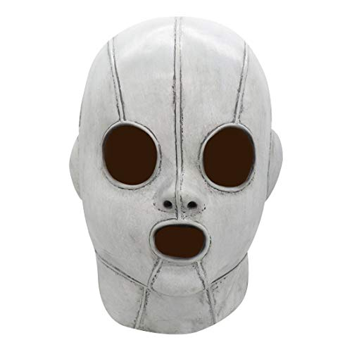 Cafele Horror Movie Us Killer Mask Evan Alex Mask Cosplay Halloween Accessories for Adults Gray