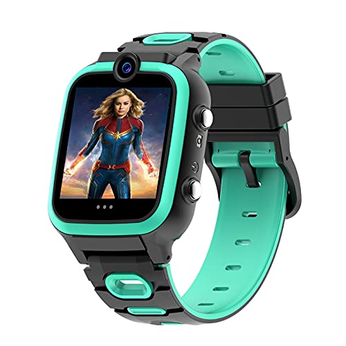 Smart Watch for Kids Boys Girls, Age 3-12 (3 Colors) with Video Recorder & Player, Music MP3 Player,Games,Camera Stopwatch Timer(Build-in SD Card) - Kids Smart Watch for Children Gifts