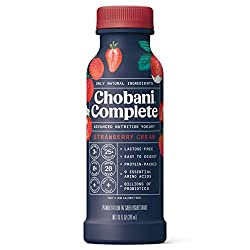 Chobani Complete Greek Yogurt Drink Strawberry Cream 10 fl oz