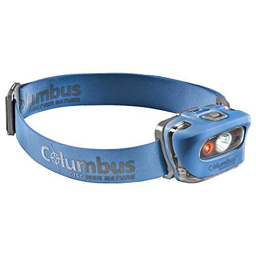 COLUMBUS Lámpara Frontal CF 3 | Linterna Frontal Potente, Profesional e...