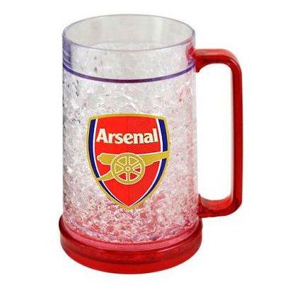 Arsenal FC. Plastic Gefrierschrank Krug