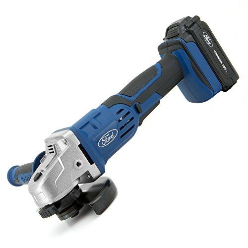 Ford Tools F181-20-EU Amoladora Angular A Batería, 18 V